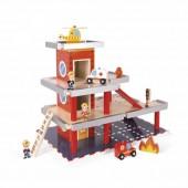 Игровой набор Janod Пожарная станция