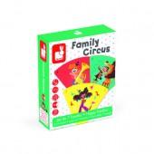 Настольная игра Janod Happy Families Цирк