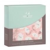 Бамбуковая пелёнка Pretty Petals - Soft Petals (1шт.)