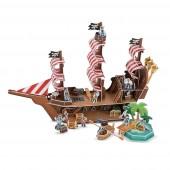 """3D пазлы """"Пиратский корабль"""""""