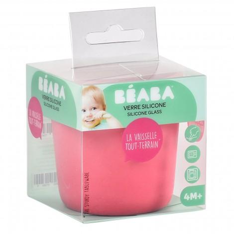Силиконовый стаканчик Beaba цвет розовый  (арт. 913435)