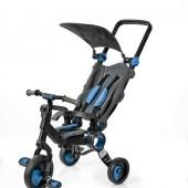 Трехколесный велосипед Galileo STROLLCYCLE чёрная рама Синий