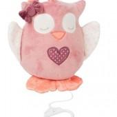 Мягкая игрушка Nattou с музыкой сова Олли 28 см
