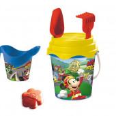 Детское ведерко с набором для песка Микки, Mondo