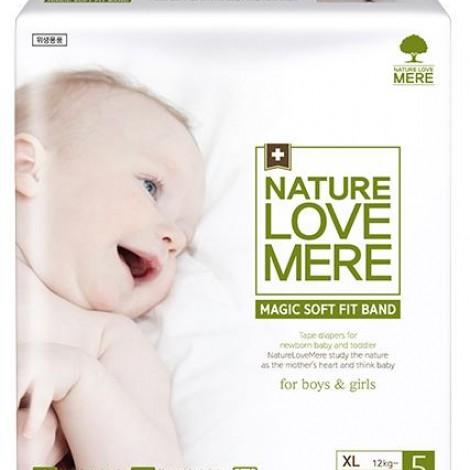 Подгузники детские Nature Love Mere, серия MAGIC SOFT FIT, размер XL, 20 шт [12+ kg]  (арт. 8809402093687)