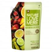 """Гель для стирки детских вещей с экстрактом фруктов """"Fruit Baby"""" Nature Love Mere 1.3 л, Корея"""