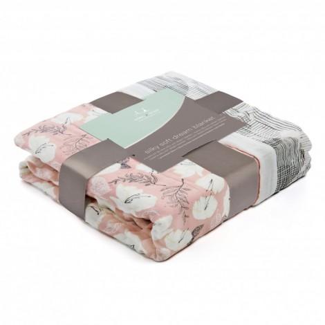 Бамбуковое одеялко Pretty Petals - Soft Petals (2 слоя)  (арт. АА-9328G)