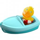 """Игрушка в ванную """"Уточка в лодке"""" HABA"""