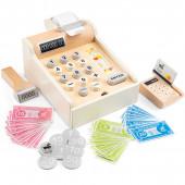 Кассовый аппарат, New Classic Toys, с монетами и кредитной картой