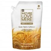 """Кондиционер-ополаскиватель для детской одежды с ароматом мускуса """"Grain Baby"""" Nature Love Mere, 1,3 л, Корея"""
