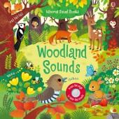 Книга со звуковыми эффектами Woodland Sounds, Звуки леса, Usborne™