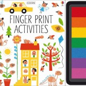 Книга-раскраска Fingerprint Activities, Usborne™