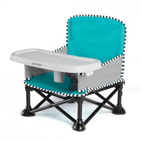 Раскладной стульчик-бустер Summer Infant POP 'N SIT Голубой  (арт. 13666)