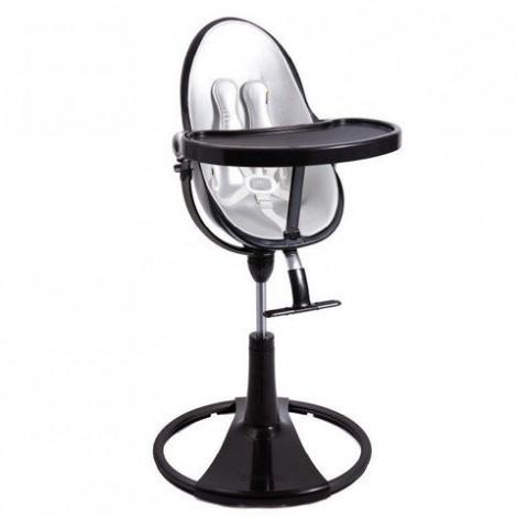 Стульчик для кормления Fresco Chrome Black Lunar silver