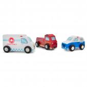 Набор транспорта 3 машинки, New Classic Toys
