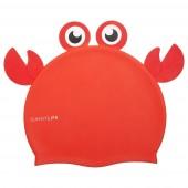 Шапочка для плавания силиконовая Sunny Life, 3-9 лет, Краб