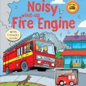 Интерактивная книга со звуковыми эффектами Громкая пожарная машина,серия Wind-Up, Usborne™