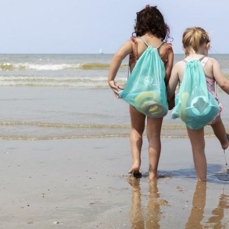 Набор для пляжа Quut Ballo (мини ведерко совочки волшебная формочка в сумке)  (арт. 170983)