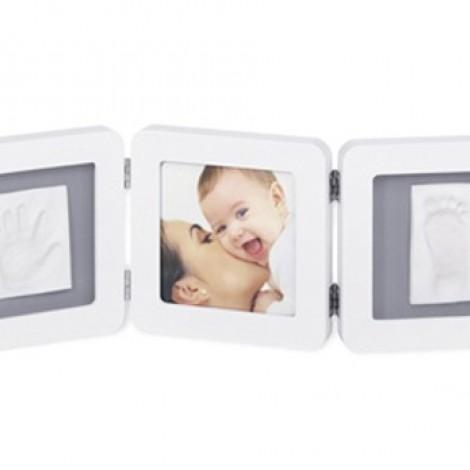 Рамочка Double Print Frame, White-grey