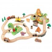 Железная дорога Kidkraft Dinosaur Bucket Top Train Set