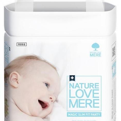 Подгузники-трусики детские Nature Love Mere, серия MAGIC SLIM FIT, размер XXL, 18 шт [13+ kg]  (арт. 8809402093786)
