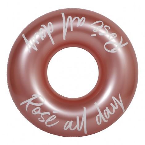 Круг для плавания Rose Gold, 110 см, до 100 кг Sunny Life  (арт. S0LPONRD)