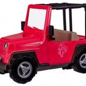Транспорт для кукол Our Generation Розовый джип с черной рамкой