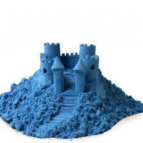 Кинетический цветной песок голубой, 2.3 кг