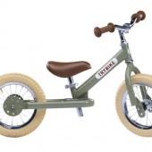 Балансирующий велосипед двухколесный, цвет оливковый Trybike