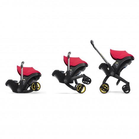 Автокресло-коляска Doona Car Seat, цвет Flame Red  (арт. SP150-20-031-015)
