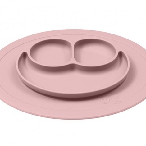 EZPZ - Силиконовая тарелка Mini mat, цвет Blush