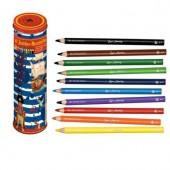 """Цветные карандаши в банке  """"Капитан Шарки"""""""