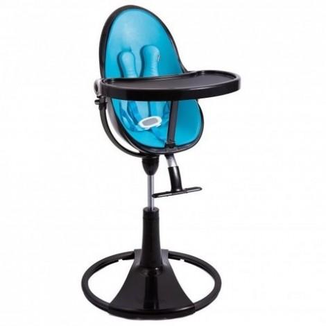Стульчик для кормления Fresco Chrome Black Bermuda blu