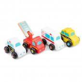 Набор транспорта 4 машинки, New Classic Toys