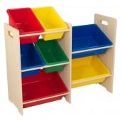 Стеллаж для игрушек Kidkraft 7 контейнеров