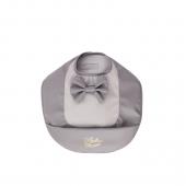 Непромокаемый нагрудник с карманом Bjällra цвет Grey Bow