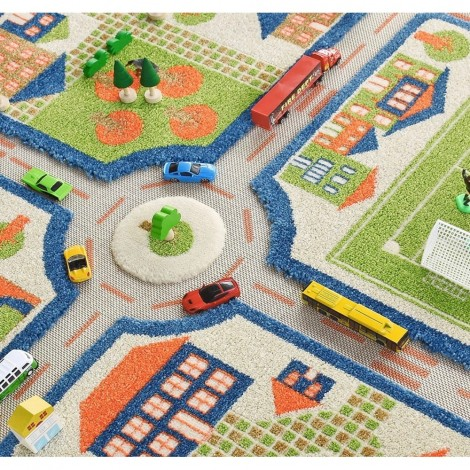 Ковер IVI 3D Play Carpets Traffic 100х150 см
