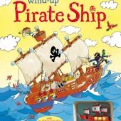 Интерактивная книга со звуковыми эффектами Пиратский корабль, серия Wind-Up, Usborne™