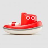 Корабль- Буксир (красный)