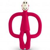 Игрушка-прорезыватель Matchstick Monkey (цвет красный, 10,5 см)