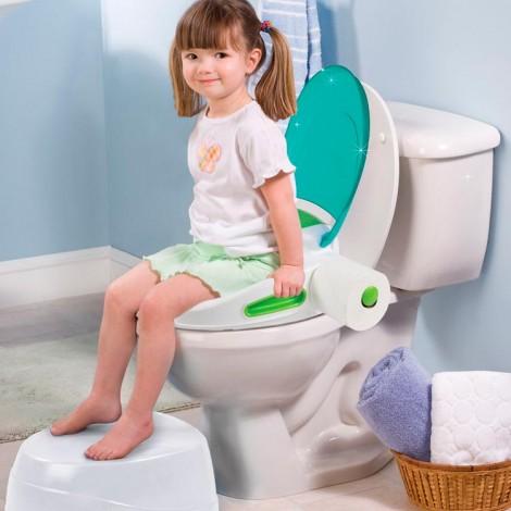 Детский горшок Step by Step 3 в 1 цвет Бирюзовый Summer Infant  (арт. 11436B)