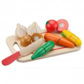 """Игровой набор """"Овощи"""" (8 предметов) New Classic Toys"""