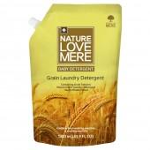 """Гель для стирки детской одежды с ароматом белого мускуса """"Grain Baby"""" Nature Love Mere 1,3 л, Корея"""