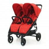 Прогулочна коляска Valco baby Snap Duo цвет Fire Red