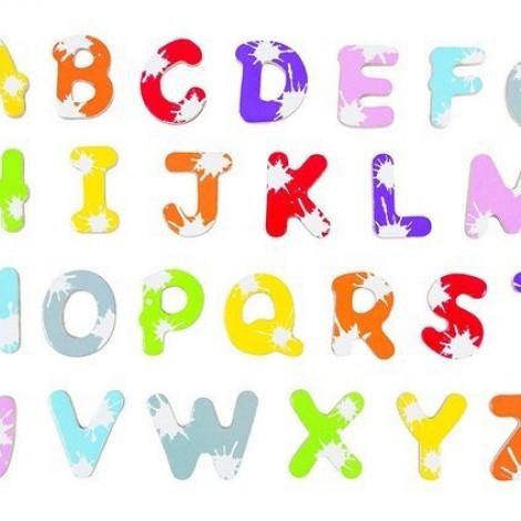 Набор магнитных букв Janod Алфавит английский язык  (арт. J09612)