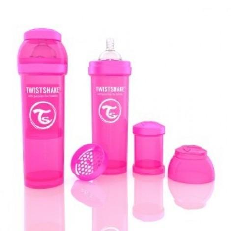 Антиколиковая бутылочка 330ml Pink