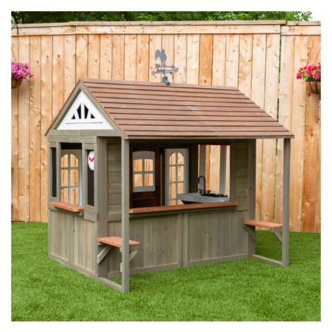 Деревянный детский домик KidKraft Country Vista  (арт. P280097)