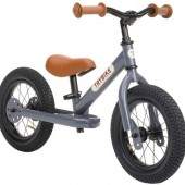 Балансирующий велосипед двухколесный, цвет серый Trybike