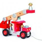 Игровой набор Janod Пожарная машина с инструментами