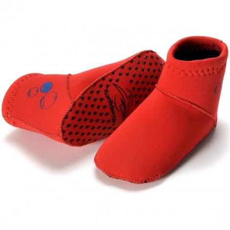 Носочки для бассейна (Paddler, красные, 6-12 мес)